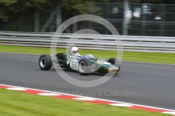Cliff Giddens, 1965 Brabham BT16, Retro Track and Air Trophy, Oulton Park Gold Cup meeting 2004.