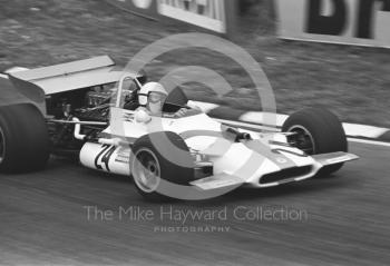 George Eaton, Yardley BRM P153 V12, British Grand Prix, Brands Hatch, 1970