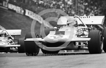 Ronnie Peterson, Antique Automobiles March Ford Cosworth 701 V8, Brands Hatch, British Grand Prix 1970.