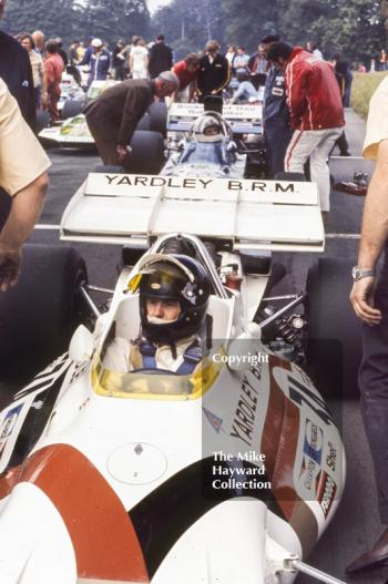 Peter Gethin, Yardley BRM P153, Oulton Park Gold Cup 1971.