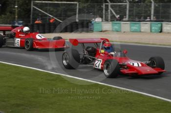 Rob Harvey, 1971 Lotus 69, and John Holmes, 1977 March 772P, European Formula 2 Race, Oulton Park Gold Cup meeting 2004.