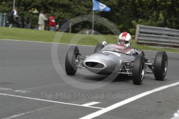 Mark Woodhouse, 1961 Lotus 20, Millers Oils/AMOC Historic Formula Junior Race, Oulton Park Gold Cup meeting 2004.
