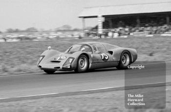 Ben Pon, Porsche 906, at a round of the Autosport Trophy, Snetterton, 24 March 1967.