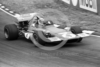 Jackie Stewart, Tyrrell March 701 V8, British Grand Prix, Brands Hatch, 1970