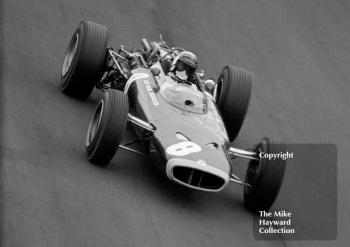 Jackie Stewart, BRM H16, Oulton Park Gold Cup 1966.