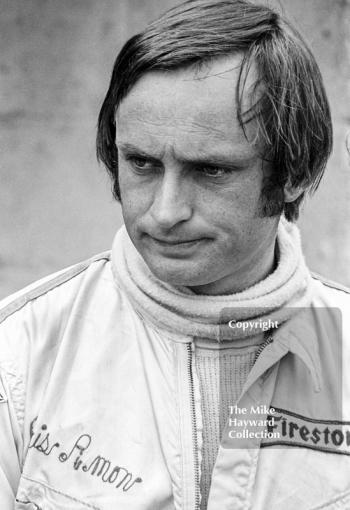 Chris Amon in the pits, British Grand Prix, Brands Hatch, 1970