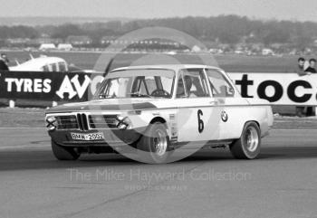 Dieter Quester, BMW 2002 TI S/C, Thruxton Easter Monday meeting 1969.