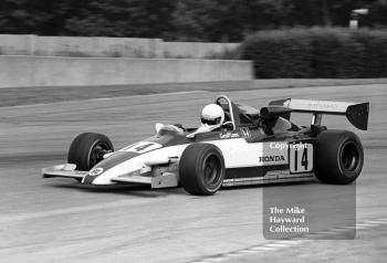 Geoff Lees, Ralt RH6/81, on the way to victory, John Howitt F2 Trophy, Donington, 1981