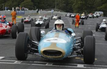 Richard Attwood, Brabham BT4, HGPCA pre-1966 Grand Prix Cars,Oulton Park Gold Cup, 2002