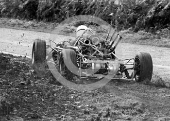 Peter Meldrum at the 13th National Loton Park Speed Hill Climb meeting, September 1968.