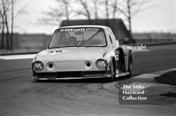 Malcolm Johnstone, Skoda, Round 1 of the 1981 Motoring News Donington Grand Touring Car Championship.