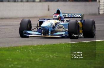 Johnny Herbert, Benetton B195, Silverstone, British Grand Prix 1995.