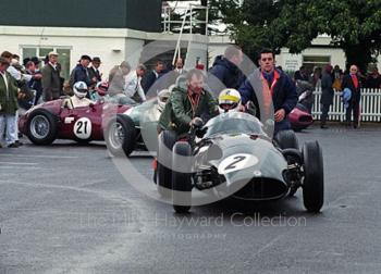 Richard Attwood, BRM 25, Richmond and Gordon Trophies, Goodwood Revival, 1999