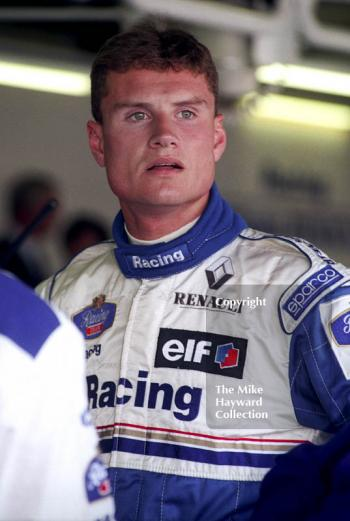 David Coulthard, Williams FW17, Silverstone, British Grand Prix 1995.