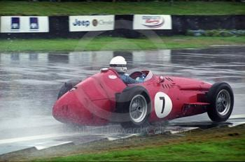 Stirling Moss, Maserati 250F, during the Richmond and Gordon Trophies, Goodwood Revival, 1999