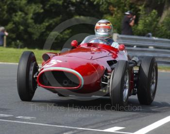 Dieter Streve-Muhlens, Maserati 250F, HGPCA pre-1961 Grand Prix cars, Oulton Park Gold Cup, 2002