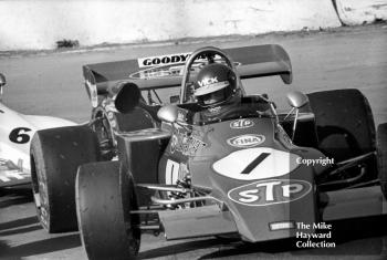 Ronnie Peterson, STP March 722-17, Mallory Park, March 12 1972