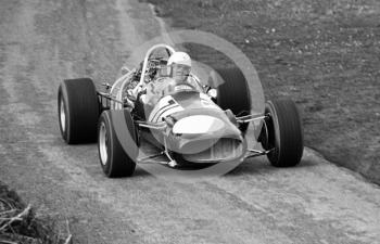 Clive Oakley, Cooper Daimler T78, at Cedar Straight, Loton Park, April 27, 1969.