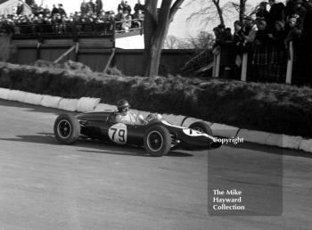 Tony Hegbourne, 1.5 Cooper Ford, Formula Libre race, Mallory Park, March 8 1964.