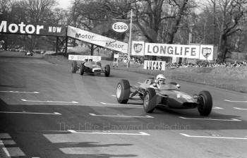 Chris Irwin, Merlyn Racing MK 9 Cosworth SCA, Oulton Park, Spring International 1965.