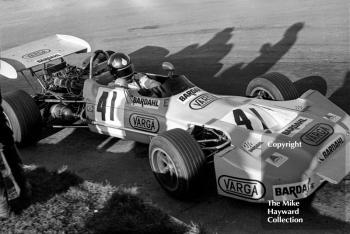 Wilson Fittipaldi, Elcom Racing Team March 712, Mallory Park, March 12 1972.
