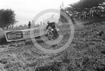 250cc riders competing, Kinver, Staffordshire, 1964.