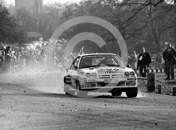 Henri Toivonen/Fred Gallagher, Rothmans Opel Manta 400 (GG CT 310), 1983 Lombard RAC Rally, Sutton Park