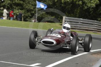 Edwin Jowsey, 1963 Lotus 22, Millers Oils/AMOC Historic Formula Junior Race, Oulton Park Gold Cup meeting 2004.