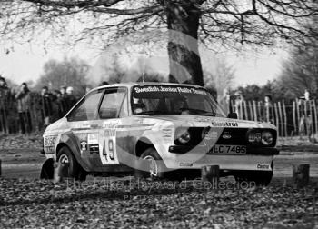 Stig Andervang/Stuart Derry (WLC 748S), Ford Escort RS1800, 1983 Lombard RAC Rally, Sutton Park