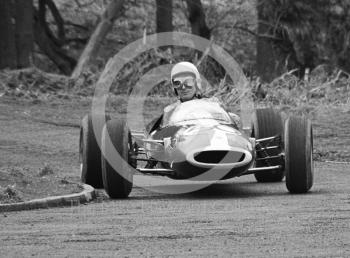 J Galliers, Lotus 22/31, Loton Park Hill Climb, April 1969.