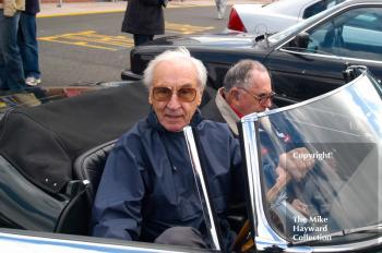 Roy Salvadori, left, and Jack Brabham, Oulton Park Gold Cup 2004.